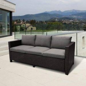 Плетеный диван S65A-W53 Brown