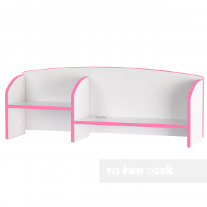Надстройка для парты Trovare Pink