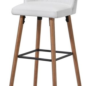 Барный стул 2-169M-1 белый White