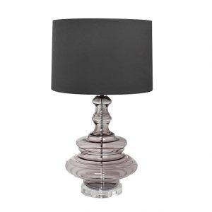 22-87861 Лампа настольная плафон темно-серый Д43 В75