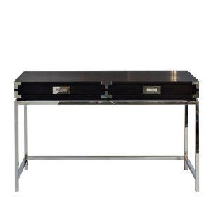 46AS-D4084-BL Стол письменный черный 130*50*78см